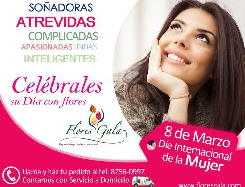 Día de la Mujer – Arreglos Florales